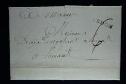 France:  Lettre Complet  1784 Redon A Loriant - 1701-1800: Précurseurs XVIII