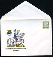 POSTILLION AMBERG Bund PU19 B2/001 Privat-Umschlag ** 1964  NGK 8,00 € - Post