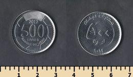 Lebanon 500 Livres 2012 - Lebanon