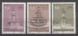 Autriche 1972  Mi.Nr: 1382-1384 Brunnen  Oblitèré / Used / Gebruikt - 1945-.... 2ème République