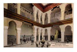 13 - MARSEILLE . EXPOSITION COLONIALE 1922 . Palais Du Maroc . Intérieur - Réf. N°5755 - - Colonial Exhibitions 1906 - 1922
