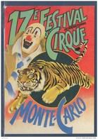 = 1993 - 17ème Festival International Du Cirque De Monte Carlo Carte Correspondant Au Visuel Timbre 1854 Monaco - Zirkus