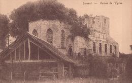 Lincent Ruines De L'Eglise - Lincent