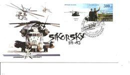 Hélicoptères - Sikorsky RH-53 ( FDC De Guinée De 2003 à Voir) - Hubschrauber