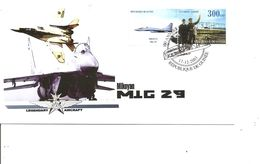 Avions - Mikoyan -MIG 29 ( FDC De Guinée De 2003 à Voir) - Hélicoptères
