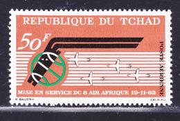 TCHAD AERIENS N°   10 ** MNH Neuf Sans Charnière, TB (D1486) - Chad (1960-...)