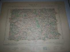 CARTE GEOGRAPHIQUE  G - Format  45 X 57 De DEUX SEVRES_VIENNE_Feuille LA MOTHE SAINT HERAY_ XII  23 ) En1902 - Geographische Kaarten