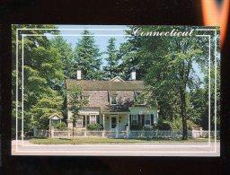 CPM Etats Unis Hawley House The Oldest House In RIDGEFIELD - Etats-Unis