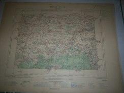 CARTE GEOGRAPHIQUE  G - Format  45 X 57 De EURE Et LOIR_LOIRET_Feuille PITHIVIERS_XVI  16 ) En1901 - Carte Geographique