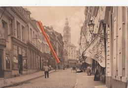 MONS - Grand'Rue - Superbe Carte Avec Commerce Du Photographe Gallade Au N°29 - Mons