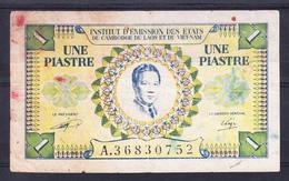 VIETNAM 1953  UNA PIASTRA   MBC  B1099 - Vietnam