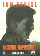 Carte Postale - Mission : Impossible (cinéma - Film - Affiche) Tom Cruise - Affiches Sur Carte
