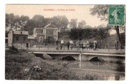 CPA   59   SOLESMES----LE PONT SUR LA SELLE---1914 - Solesmes