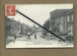 CPA  - Bussières Les Belmont - La Rue De Meuge  -  (Voir Cachet De La Poste Au Verso) - France