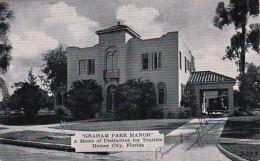 Florida Haines City Graham Park Manor Tourist Home Dexter Press
