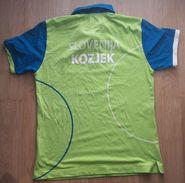 SLOVENIA National Shirt From Jure Kozjek European Champion 2014 Koper In Bowling Boule Petanque - Pétanque