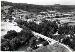 CPSM Réf.G751) AUTEVIELLE (PYRÉNÉES ATLANTIQUES 64) Vue Générale Aérienne  - Le Pont Du Gave - France