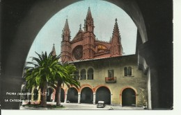 Mallorca - Palma - La Catedral Detalle - 2 Scans - Palma De Mallorca