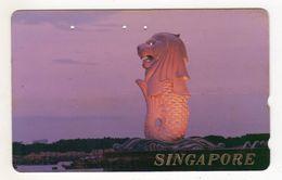 SINGAPOUR Télécarte Japonaise - Singapour