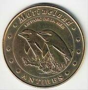 Monnaie De Paris 06.Antibes - Marineland 1 Dauphins 2000 - Monnaie De Paris