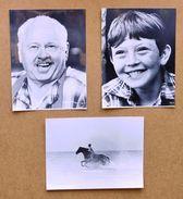Cinema Lotto 3 Foto Di Scena Del Film Black Stallion - Mickey Rooney - 1979 - Photos