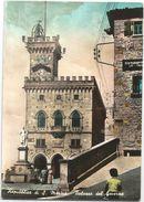 X1083 Repubblica Di San Marino - Palazzo Del Governo / Viaggiata 1958 - San Marino