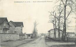"CPA FRANCE 77 "" Combault, Route D'Emerainville Pontault"". - France"