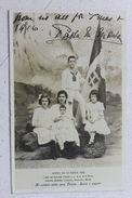 Fotocartolina Figli Sovrani Italia Jolanda Mafalda Umberto Giovanna E Maria 1915 - Photos