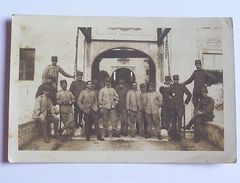 Foto Cartolina Militaria - Soldati In Caserma 1910 Ca - Reggimenti