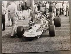 Automobilismo Fotografia John Surtees 7 - Surtees Ford TS 9 - 1971 Formula 1 - Fotografia