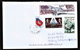 France - Cover #8 Used - Lettres & Documents