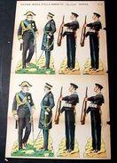 Marca Stella Foglio N° 3 Esercito Italiano Marina 1930 - Giocattoli Antichi