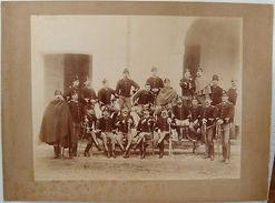 Foto Epoca Reggimento Cavalleria Cavalleggeri 1890 - Fotografia