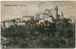 Postale Sperduti Panorama Giuliano Di Roma Lazio Italia 1924 - Other Cities