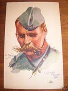 Cartolina Militaria Copricapi Dupuis La Bassée 1914 - Regimente