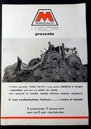Brochure Macchine Agricole - Moncalvi Trattore Gommato Tiger - 1960 Ca. - Unclassified