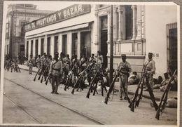 Foto Epoca - Mexico Rivoluzione Messicana 1910 - Soldati Artiglieria Strade  N.8 - Fotos