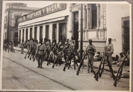 Foto Epoca - Mexico Rivoluzione Messicana 1910 - Soldati Artiglieria Strade  N.8 - Photos