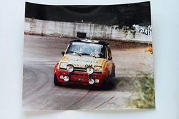 Foto Automobile D'epoca Renault 5 R5  Rally 1980 Trofeo Gara - Foto