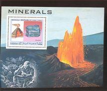 SOMALIA 1997  S-67  MNH SET OF S/S OF  MINERALS - Somalie (1960-...)