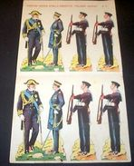 Marca Stella Foglio N° 4 Esercito Italiano Marina 1930 - Giocattoli Antichi