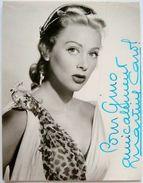 Fotografia Autografo Attrice Martine Carol Parigi 1953 - Autographs