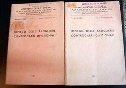 Militaria Addestramento Controcarri 1°ed. -1951 - Documenti