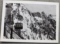 Foto Montagna Courmayeur 1950 - Arrivo Funivia Monofune Al Rifugio Torino M 3370 - Non Classificati