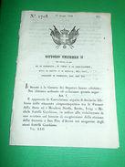 Decreti Regno Sardegna Torino Convenzione Tra Finanze E Fratelli Cambiaso 1854 - Vieux Papiers