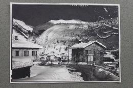Foto Montagna Valle D'Aosta 1968 La Thuile - Scorcio Strada Case - Photographs
