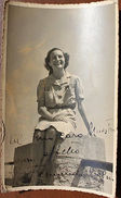 Foto Cartolina Autografo Fernanda Cogni Canto Lirica - Autographes