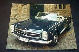 Fotografia Epoca Mercedes SL 280 1969 Pagoda - Foto