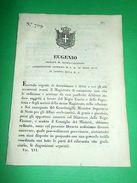 Decreti Regno Sardegna Torino Disposizioni Intorno Ai Diritti 1848 - Old Paper