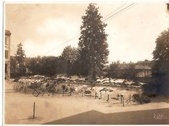 Foto Farina - Trincea Monza Militaria 1934 Combattenti - Fotografia